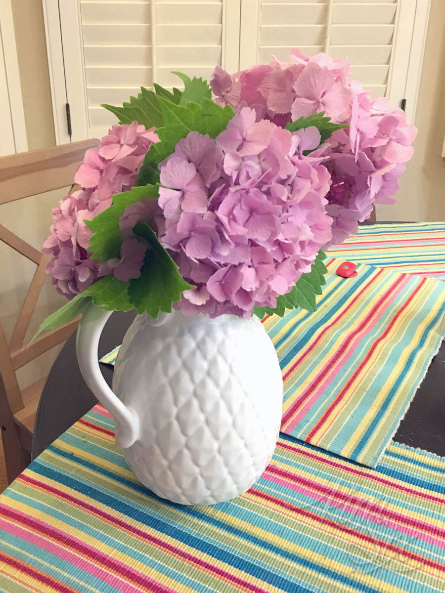 How to save wilted hydrangea flowers