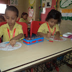 kaleidoscope painting( junior kg)