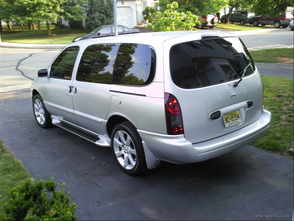 1999 nissan quest gle passenger minivan 3 3l v6 4 speed automatic