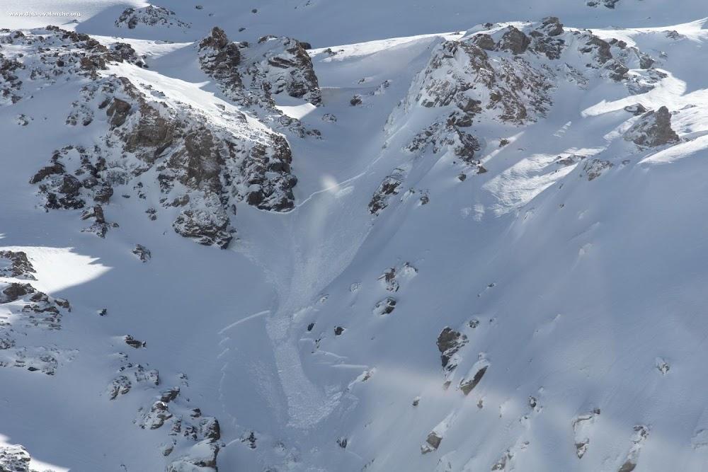Avalanche Haute Maurienne, secteur Col du Mont Cenis, Pointe du Lamet - RD 1006 - Photo 1