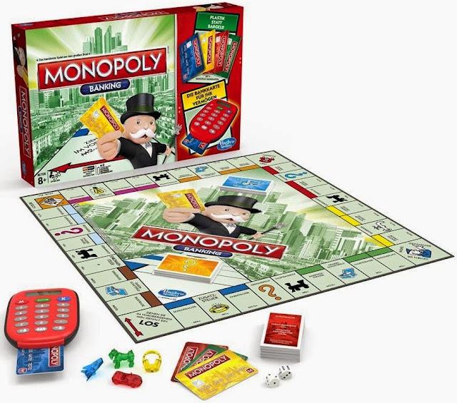 Cờ tỷ phú tiếng Anh Monopoly Electronic Banking là trò chơi bổ ích và lý thú
