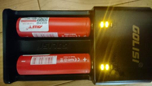 DSC 1632 thumb%25255B2%25255D - 【バッテリー/充電器】「GOLISI O2 インテリジェントチャージャー」レビュー。携行ポーチつき2A急速充電+スマホ充電対応!