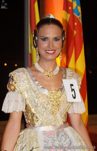 #elecció2016. Corte de Honor de la Fallera Mayor de Valencia 2016.