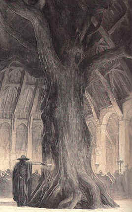 Wotan In Hunding Hall, Asatru Gods And Heroes