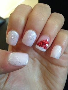 cool christmas nail art designs  styles 7