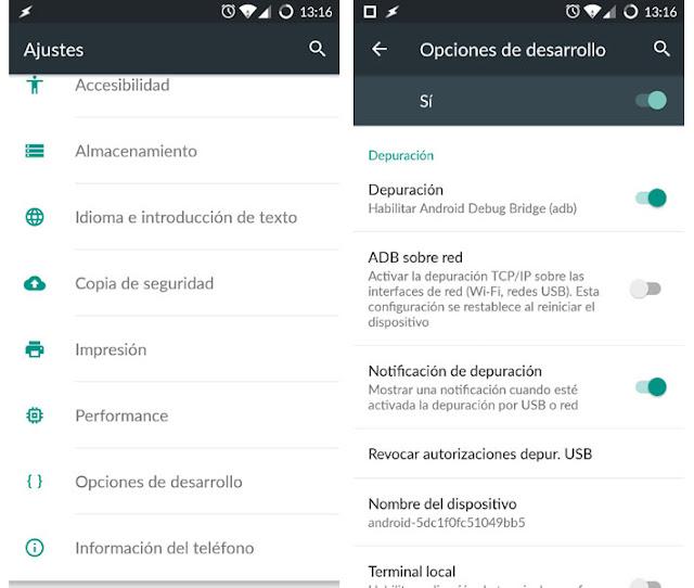 recuperar datos android pantalla rota