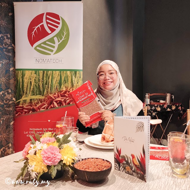 PRIMERA Beras Merah Premium Tempatan Kaya Antioksidan, Tinggi Serat Dan Nilai Indeks Glisemik Rendah.