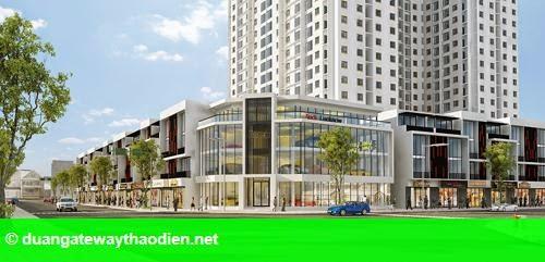 Hình 1: Mô hình nhà phố khởi nghiệp The One Central