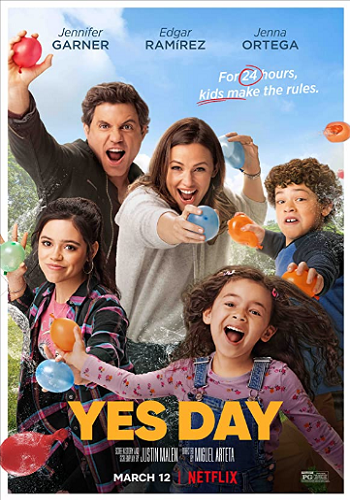 Yes Day 2021 Hindi Dual Audio WEB-DL Full Movie Download 480p [300MB] 720p [850MB] 1080p [1.8GB]