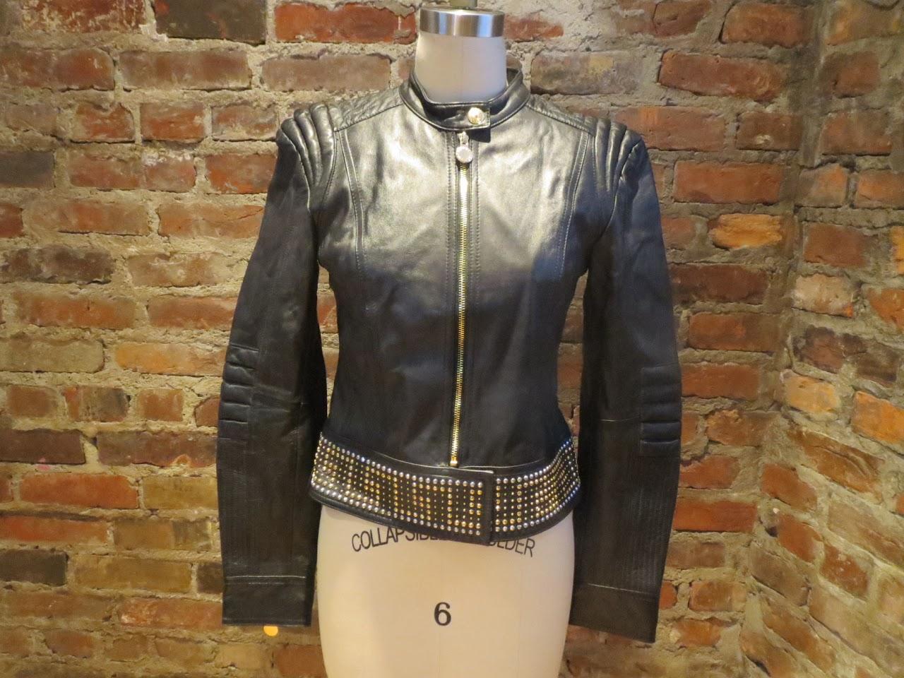 Versace x H&M Leather Rocker Jacket