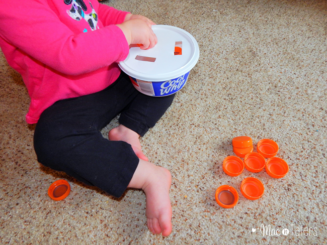 Fine Motor Pumpkin Drop