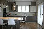 foto di cucina Snaidero a Bergamo mod. Way con penisola