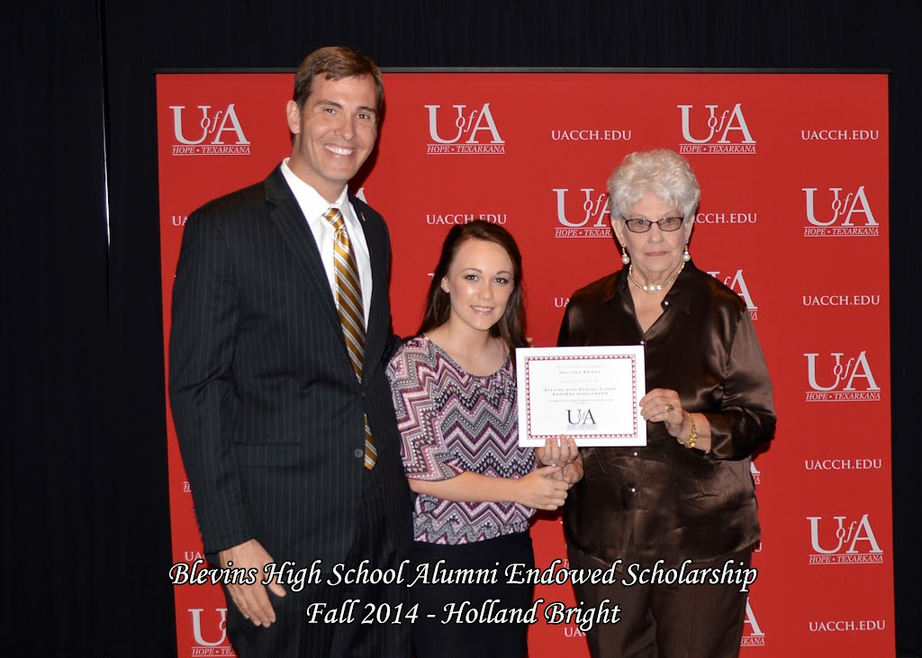 Scholarship Awards Ceremony Fall 2014 - Holland%2BBright.jpg