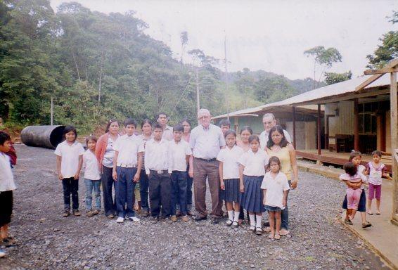 Prima Comunione nella selva con don Giancarlo Zanutto