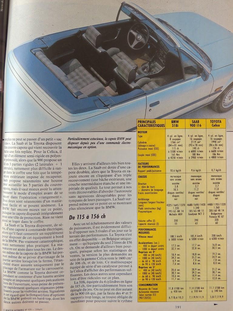 différence entre une E30 318 Cab et une E30 325 Cab DSCN0699