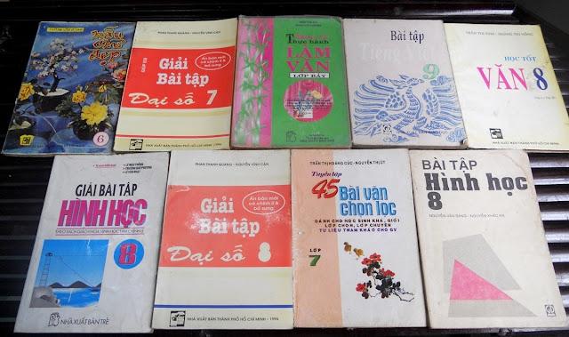 Sách giáo khoa tiểu học cũ - nơi lưu giữ từng trang ký ức DSCN2738