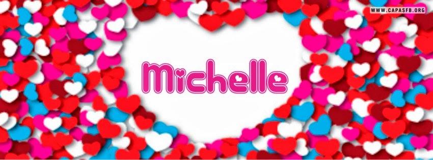 Capas para Facebook Michelle
