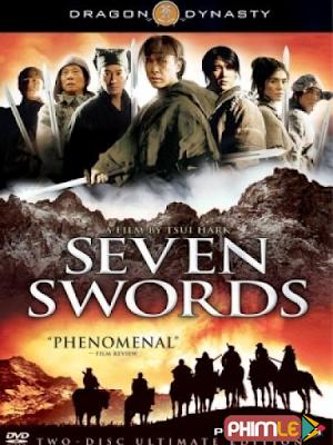 Phim Thất Kiếm - Seven Swords (2005)