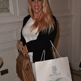 OIC - ENTSIMAGES.COM - DJ Sarah Giggle at the  Launch of Dawn Ward as the face of new brand 3D SkinMed London 16th September 2015 Photo Mobis Photos/OIC 0203 174 1069
