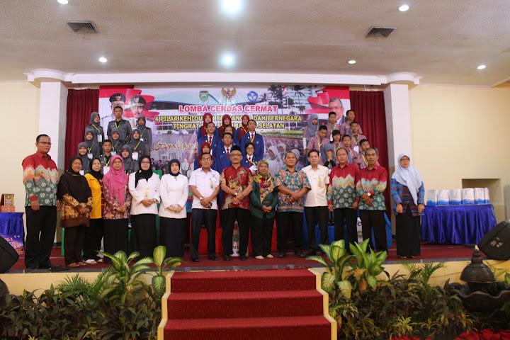 Tim LCC 4 Pilar SMAN 3 Kayuagung Goes to Nasional