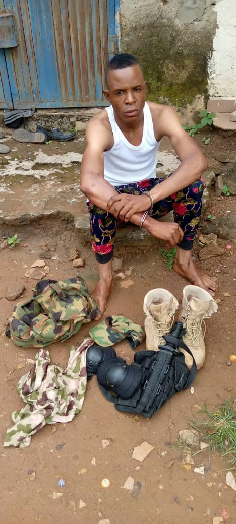 Fake Naval Officer Arrested For Defrauding & Assaulting Pos Agents In Nasarawa