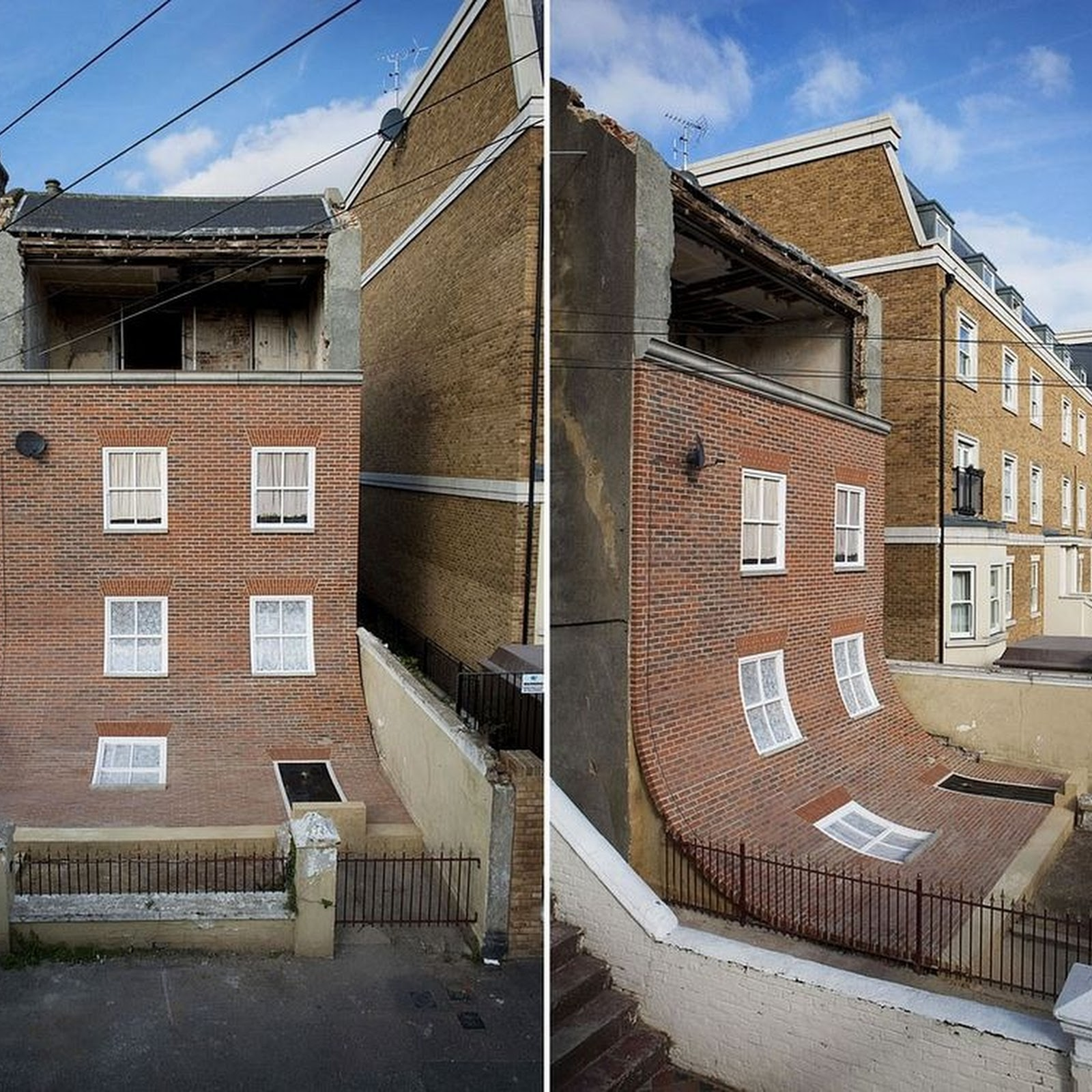 Alex Chinneck's Architectural Illusions