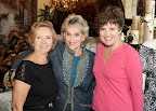Connie Nichols, Ann Hardy and Cheri Irwin.
