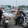 WSPD Motorcycle Officer May & NYSP  Representative @ National Night Out in West Seneca 2009