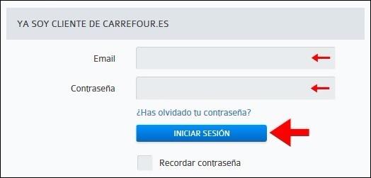 Abrir mi cuenta Carrefour - 454