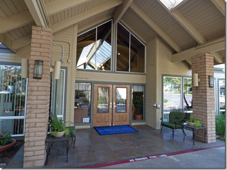 Main Entrance,  Brookdale Orangevale Assisted Living community