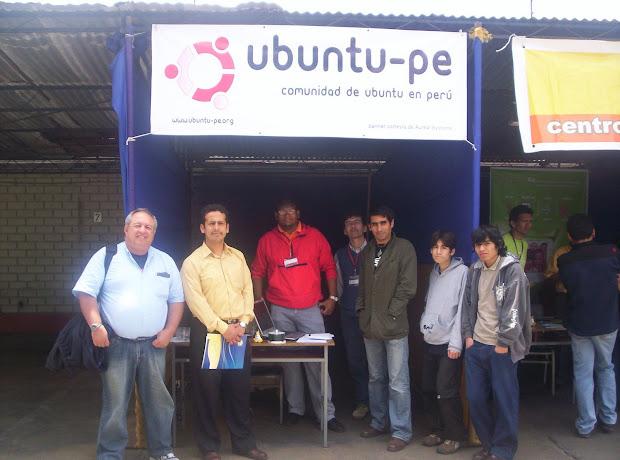Ubuntu Peru en el Fesoli
