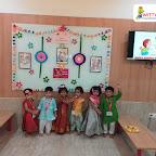 Raksha Bandhan Celebration by Playgroup Section at Witty World Bangur Nagar (2018-2019)