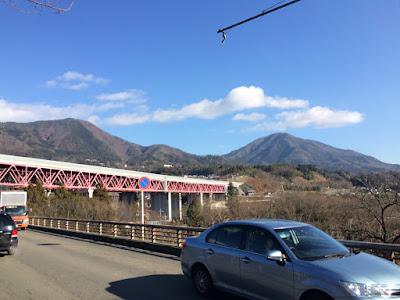 富士山を眺めに百蔵山と猿橋
