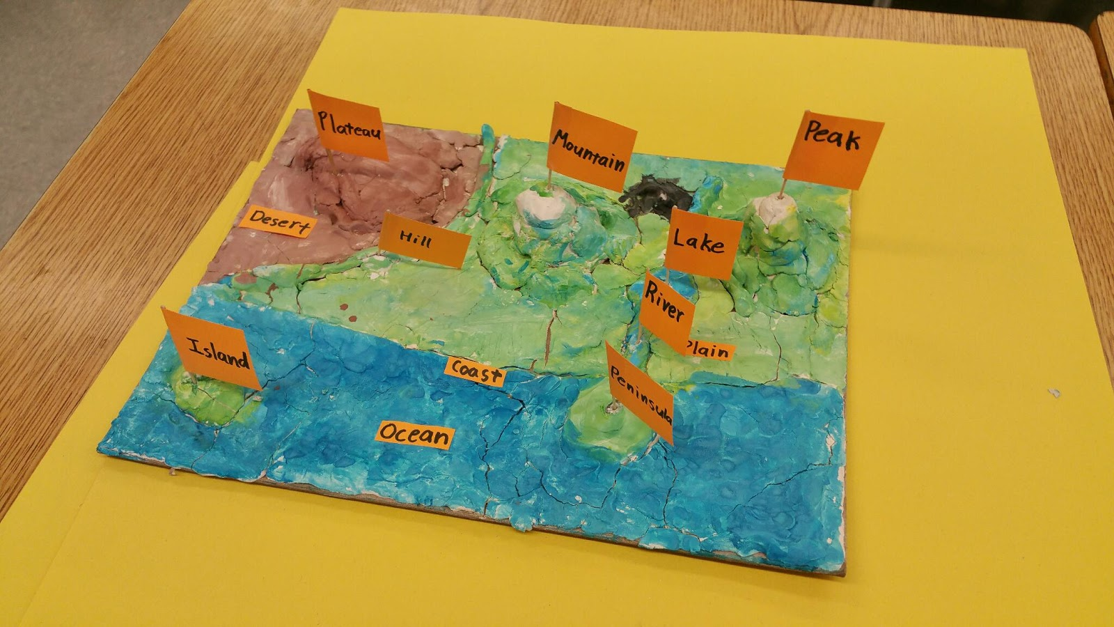 Grade  Island Map Project