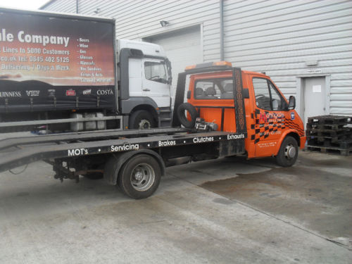 Transit Recovery Spruce Up (ACCIDENT DAMAGE REPAIRED ...