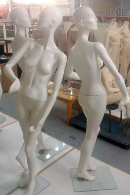 MANNEQUINS ~ EXOTIC ~ ART DECO STYLE - 5