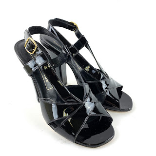 Marc Jacobs Collection Patent Leather Sandals