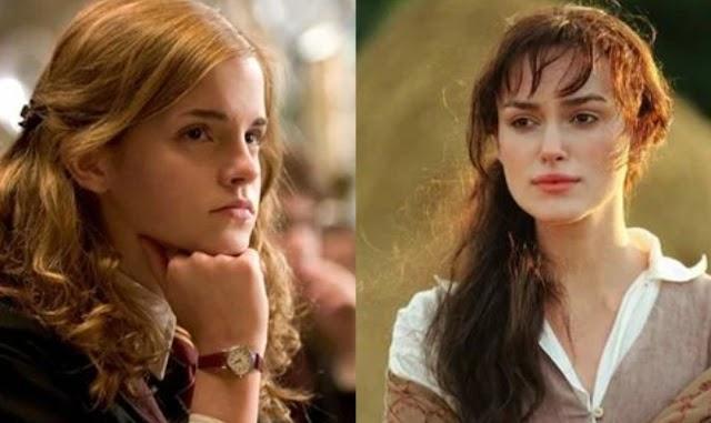 Personagens de Harry Potter e sua contraparte na comédia romântica