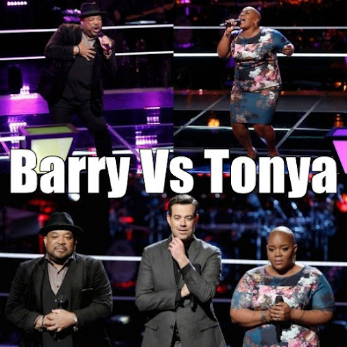 Barry vs. Tonya Knockout