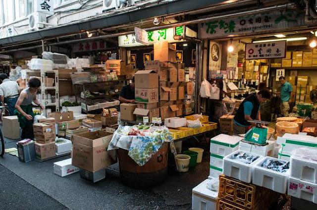 Fish Market, Japan