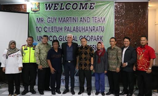Guy Martini Jadi Penasihat Unesco Global Geopark Ciletuh Palabuhanratu