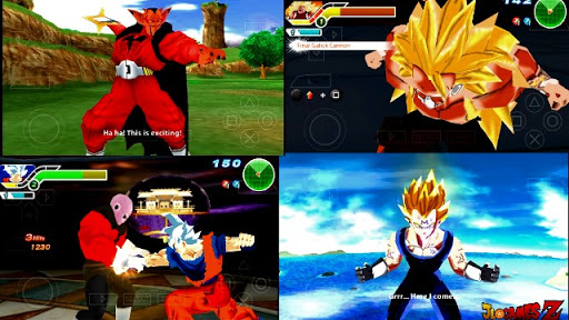 DOWNLOAD!! DRAGON BALL TENKAICHI TAG TEAM (MOD) V2 PARA CELULARES ANDROID PPSSPP 2019 DBZ TTT