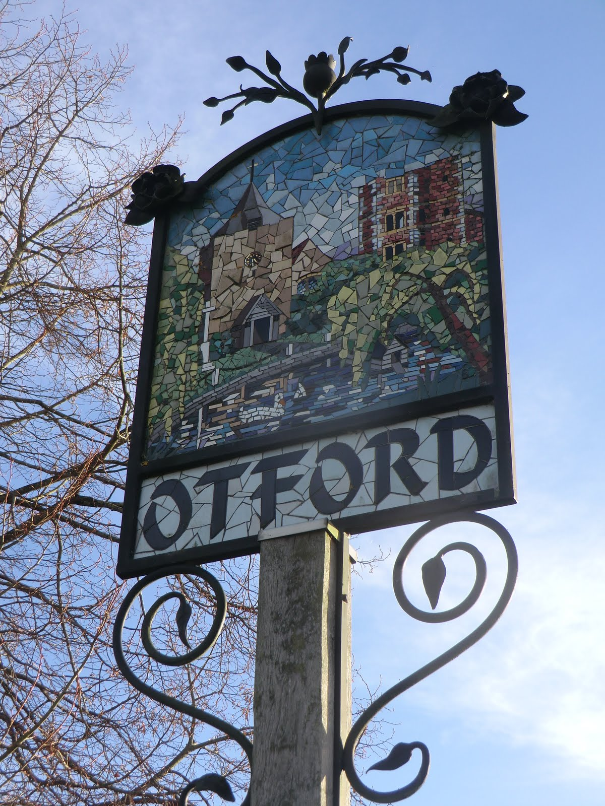 CIMG7900 Otford village sign