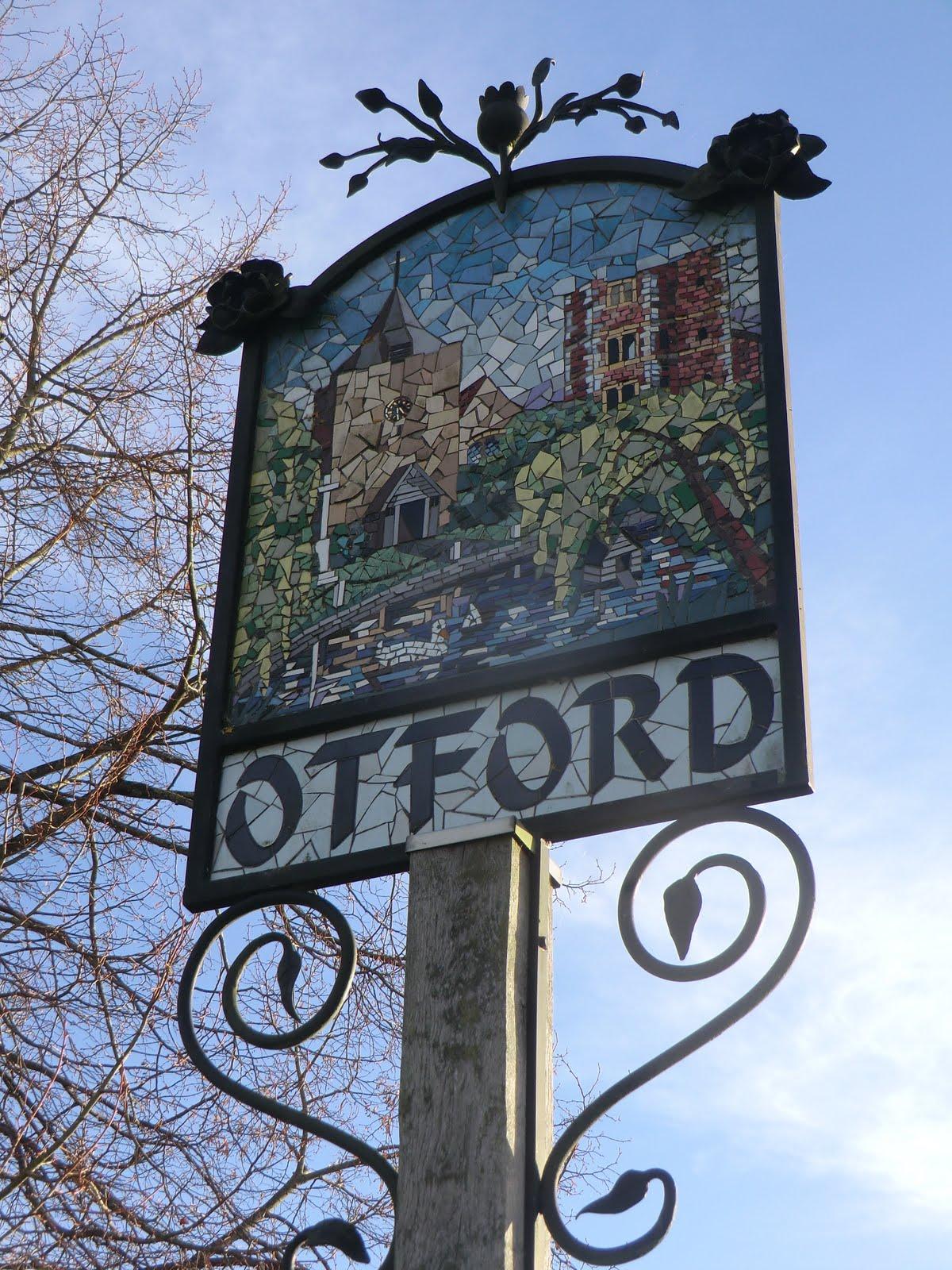 CIMG7900 Otford village sign