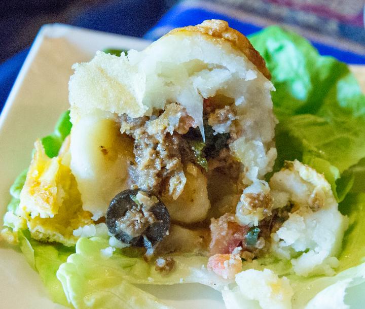 photo of an empanada