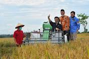 Mentan SYL Hadiri Panen Padi di Bengkulu,  Puji Potensi Pertanian Untuk Kebutuhan Pangan Nasional