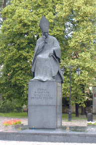 Lots of monuments and statues in Poland.  They're everywhere - I eventually stopped taking pictures of them.