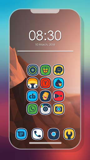 Android için Erimo - Icon Pack Uygulamalar screenshot