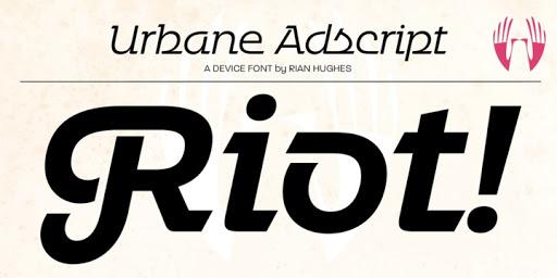 Download <SP>Urbane<SP>Adscript Fonts by Device