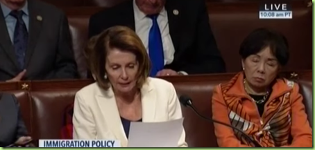pelosi asleep